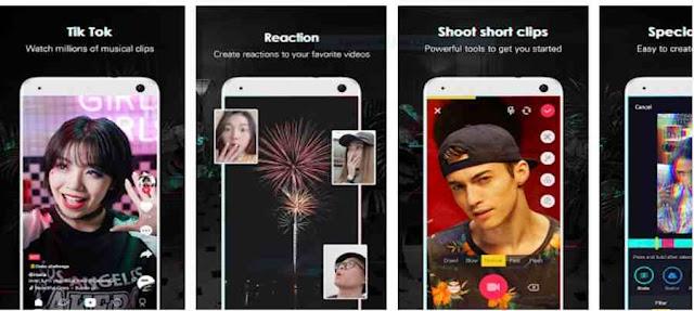 App de Rede Social: Tik Tok