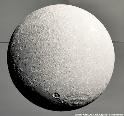 Saturn's Moon Dione