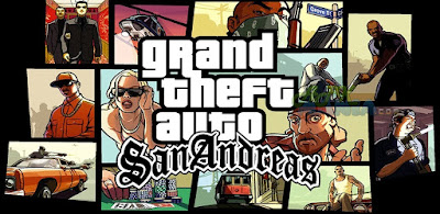Download Game Android Gratis Grand Theft Auto : Sand Andreas apk + obb