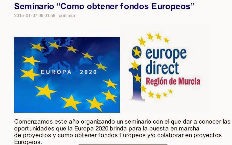 Europe direct regi n de murcia colaboramos con el colegio - Colegio de arquitectos tecnicos de murcia ...