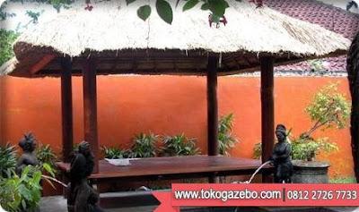 Gazebo Glugu atap Alang-alang Bali