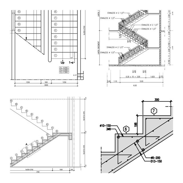 Perhitungan Tangga Lengkap SEPUTAR TEKNIK SIPIL
