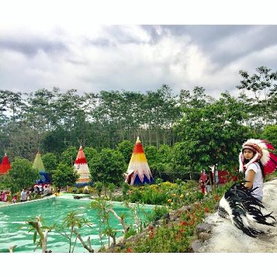 wisata kampung indian kediri