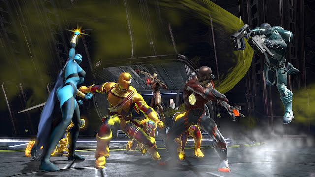 """""""DC Universe Online"""" Game đại chiến siêu anh hùng free 2011"""