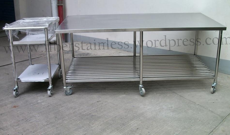 Meja Stainless Working Table Pabrik Produksi