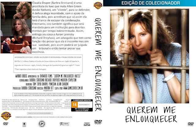 Capa DVD Querem Me Enlouquecer (1987) [Coleção]
