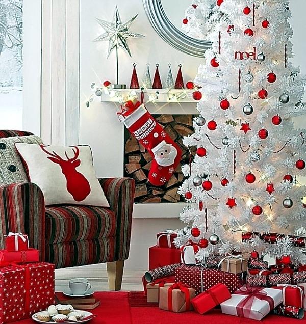 Dicas para decorar sua árvore de natal branca