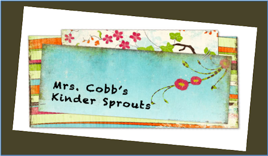 Mrs. Cobb's Kinder Sprouts: All About Seat Sacks