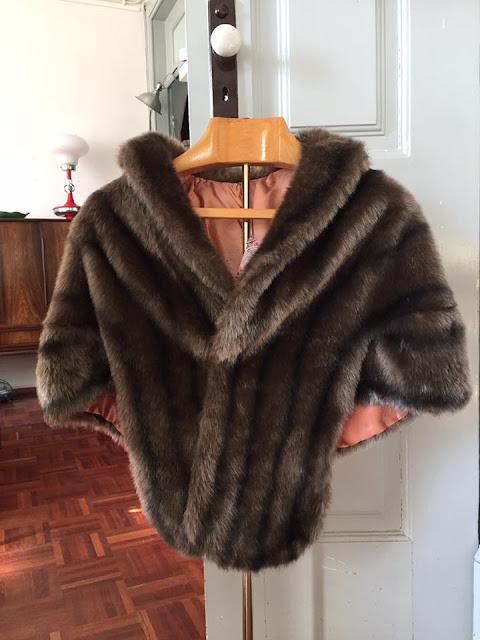vintage, estola, roupa vintage, acessórios vintage