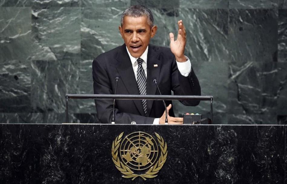Image result for Obama un