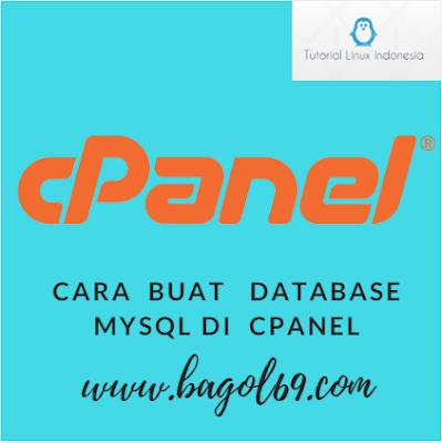 Cara  Buat  Databases Mysql  Cpanel