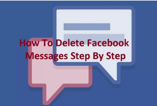 Steps to Delete Facebook Messages