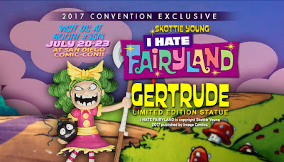 San Diego Comic-Con 2017 Exclusive I Hate Fairyland Gertrude Statue by Skottie Young x Gentle Giant
