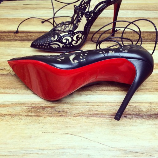 Brilliant Luxury ♦ perfect for evening ~ Christian Louboutin sandals #redsole #louboutinworld