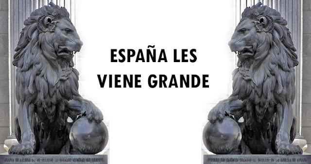 España les viene grande
