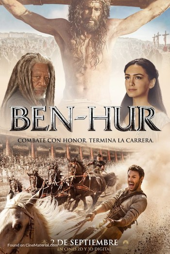 Ben Hur 2016 Dual Audio Hindi 480p HDTS 350mb Download