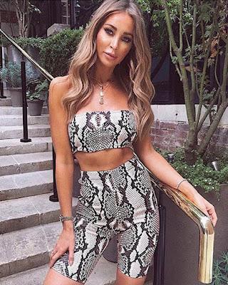 outfit de verano snake print
