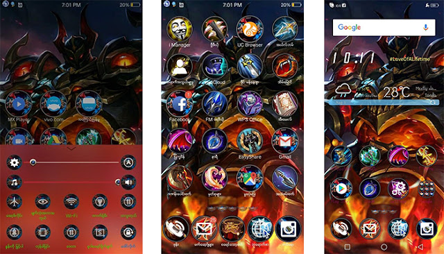 Mobile Legend Theme itz For Vivo