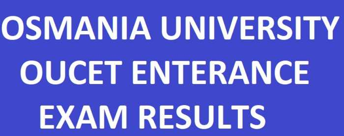 Osmania University OUCET Results manabadi schools9