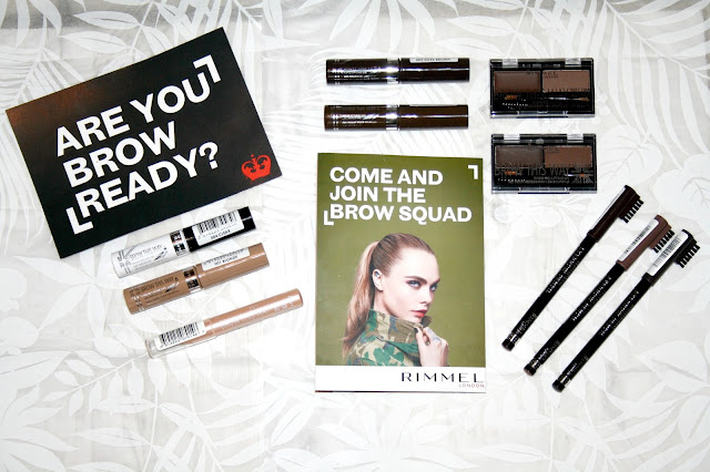 Rimmel's Brow Boutique #BrowLikeCara