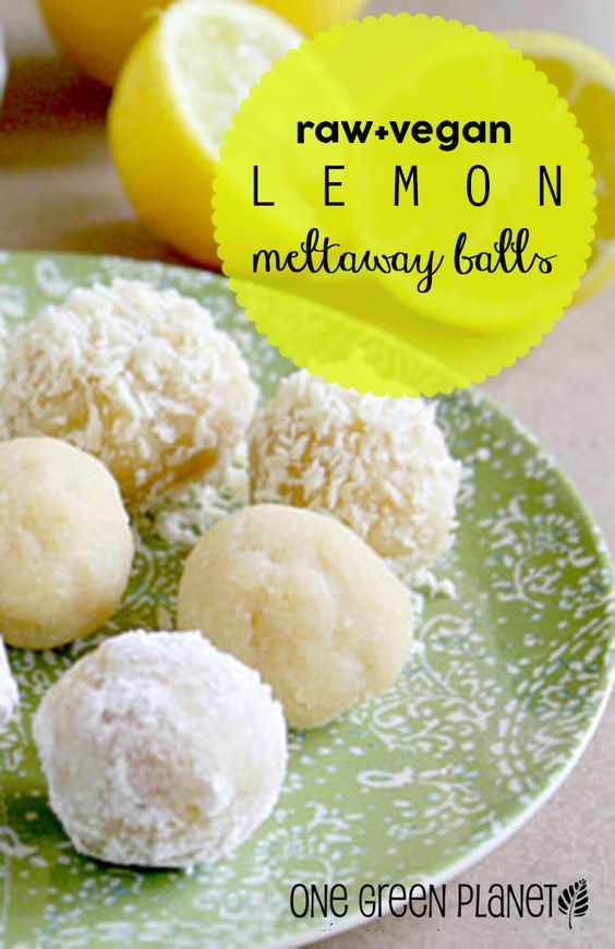 Raw Lemon Meltaway Balls #raw #lemon #meltaway #balls #healthyfood #healthyrcipes #snackrecipes #healthysnack #easysnackrecipes