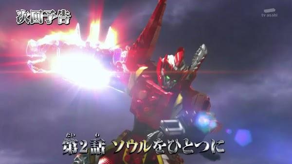 Spoiler Kishiryu Sentai Ryusoulger Episode 2