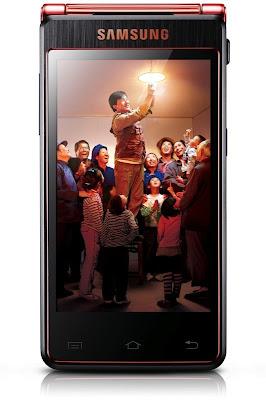 Android de flip do Jackie Chan com quad-core, 2GB de RAM e tela dupla 4