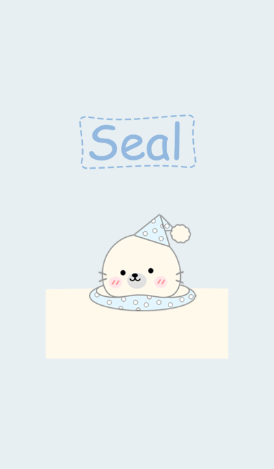 Seal In Blue 2