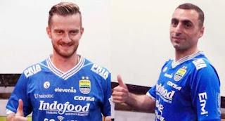 Pelatih Persib Nilai Artur Gevorkyan dan Rene Mihelic Masih Lamban