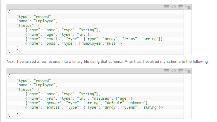Converting Un-structured data to Structured using AVRO | Everything