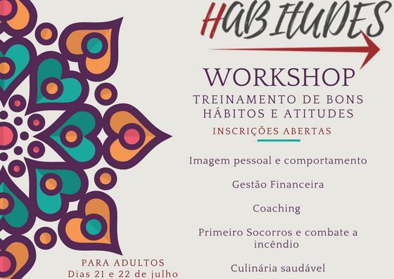 Treinamento de bons hábitos para Adultos em Brasília