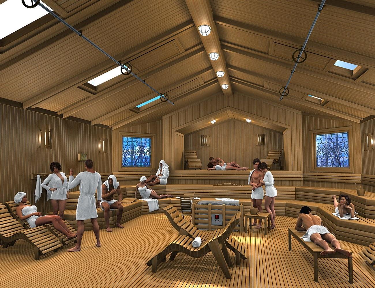 Download daz studio 3 for free daz 3d spa sauna for Sauna 3d montpellier
