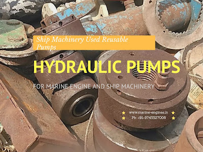 IHI  Pumps, Mitsubishi Pumps, Hagglunds Pumps, used, recondition, marine, ship machinery, second hand, hydraulic pumps