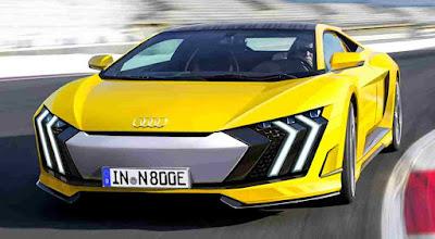 2019 Audi R8 signature concept rendering