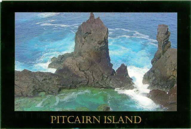 Wax On Daniel San Postcards Pitcairn Islands