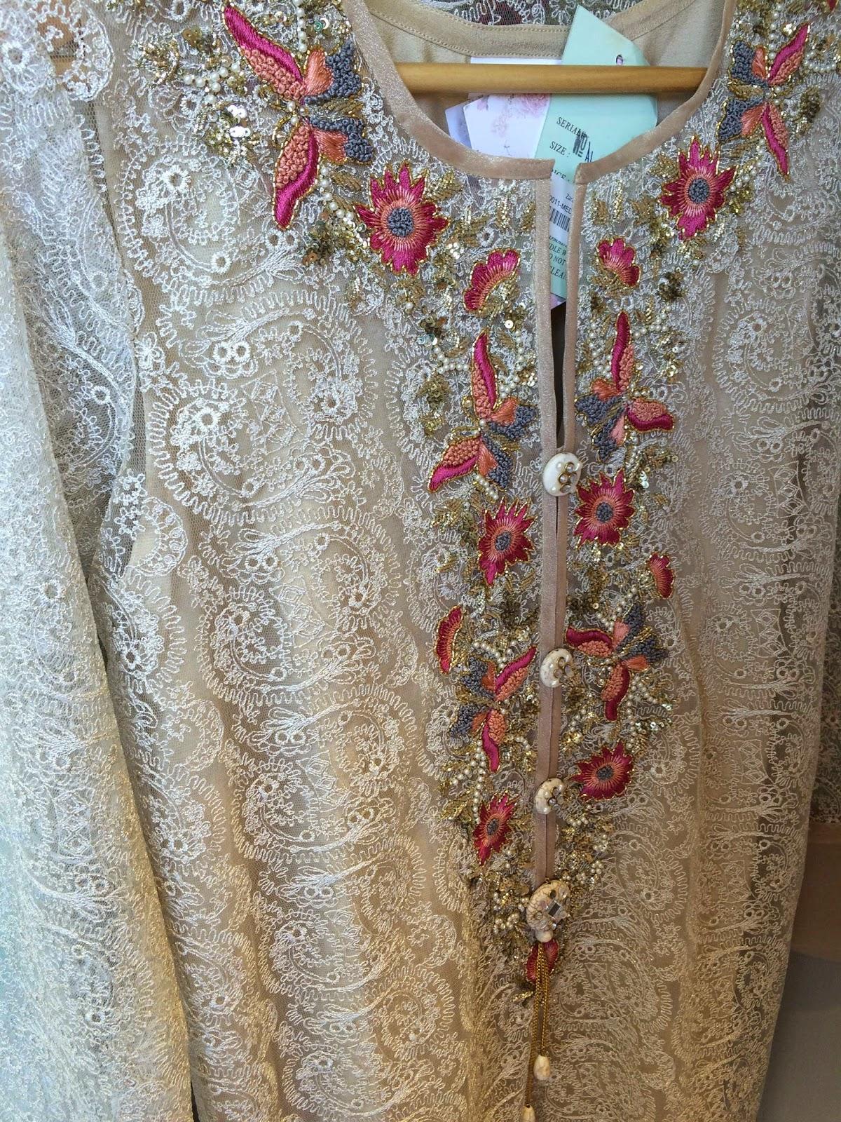 Formalwear by Zara Shahjahan at the Karachi store