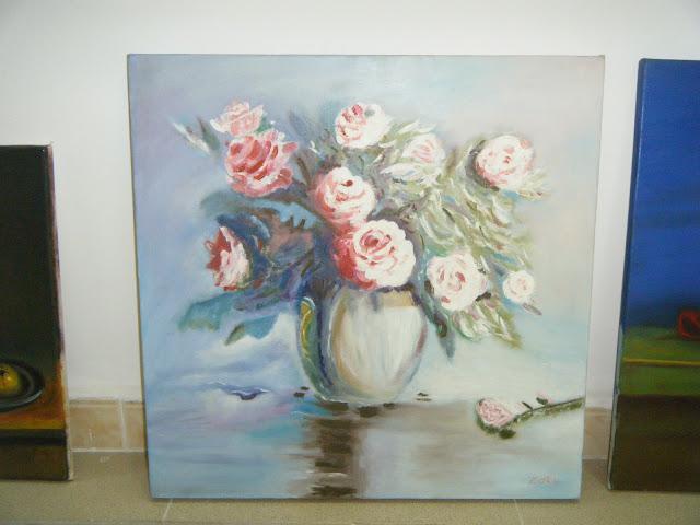 Les peintures de mes élèves à l'expo 7