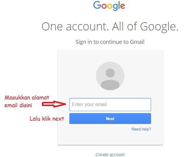 cara menulis email