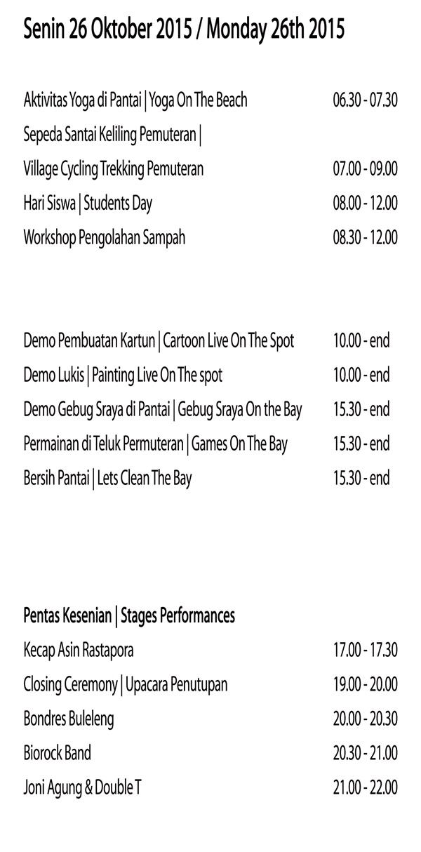 Jadwal Buleleng Bali Dive Festival 2016
