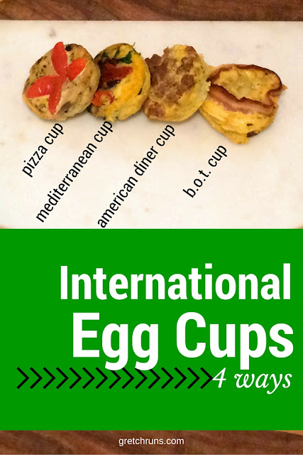 International Egg Cup Recipe : 4 easy egg cups for a quick breakfast