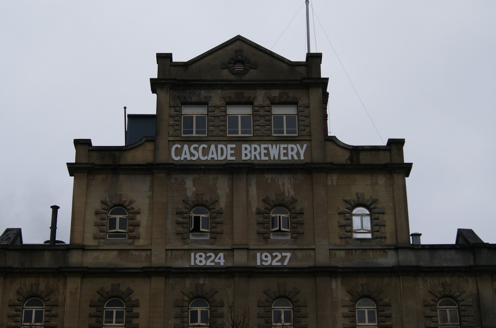 On The Convict Trail Cascade Brewery