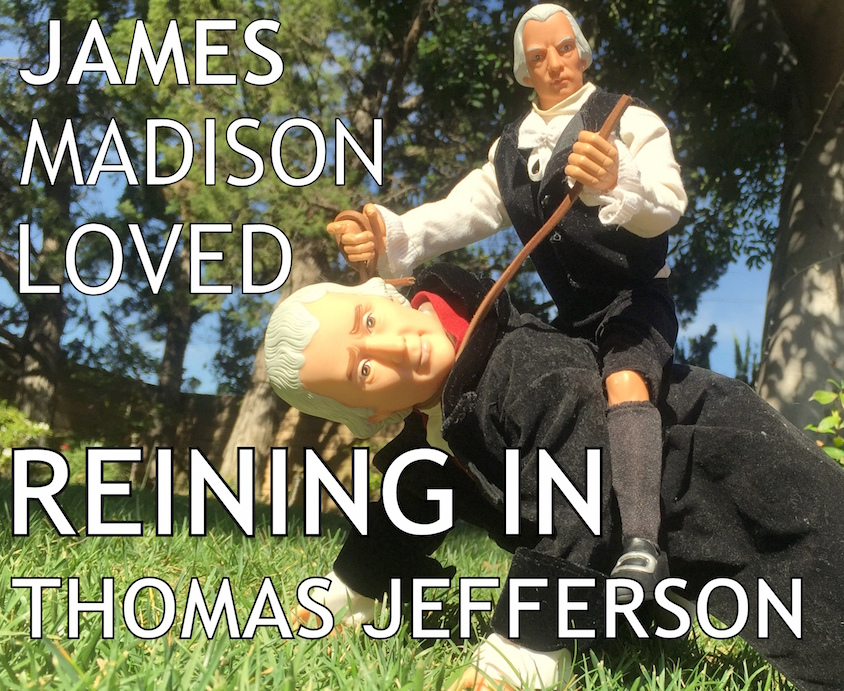 the tensions during the presidencies of thomas jefferson and james madison The separation of church and state from the american revolution to the early republic thomas jefferson perhaps that was because it occurred close to his family's plantation james madison.