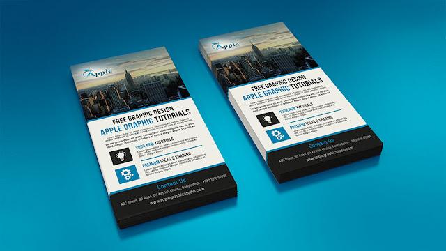 dl-flyer-design Corporate DL Flyer Design - Photoshop CC Tutorial download