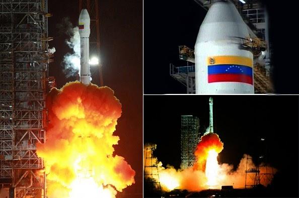 Lanzamiento de Cohete venezolano al espacio
