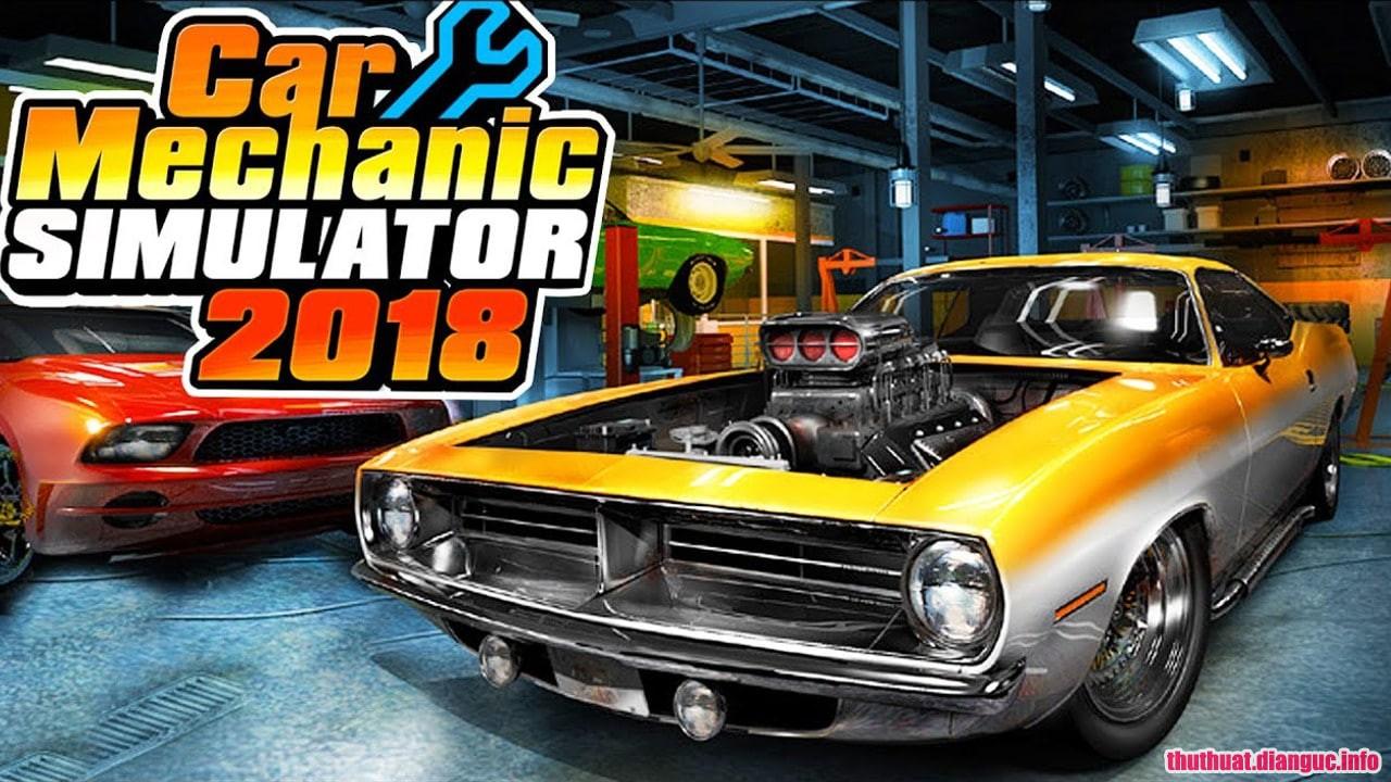 Download game Car Mechanic Simulator 2018 Porsche_v1.5.25 Fshare