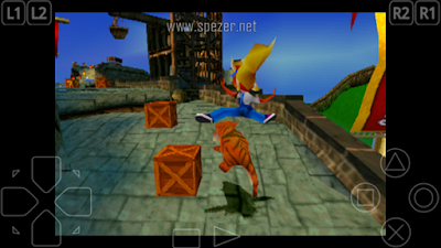 Bermain Game PS1 di Android