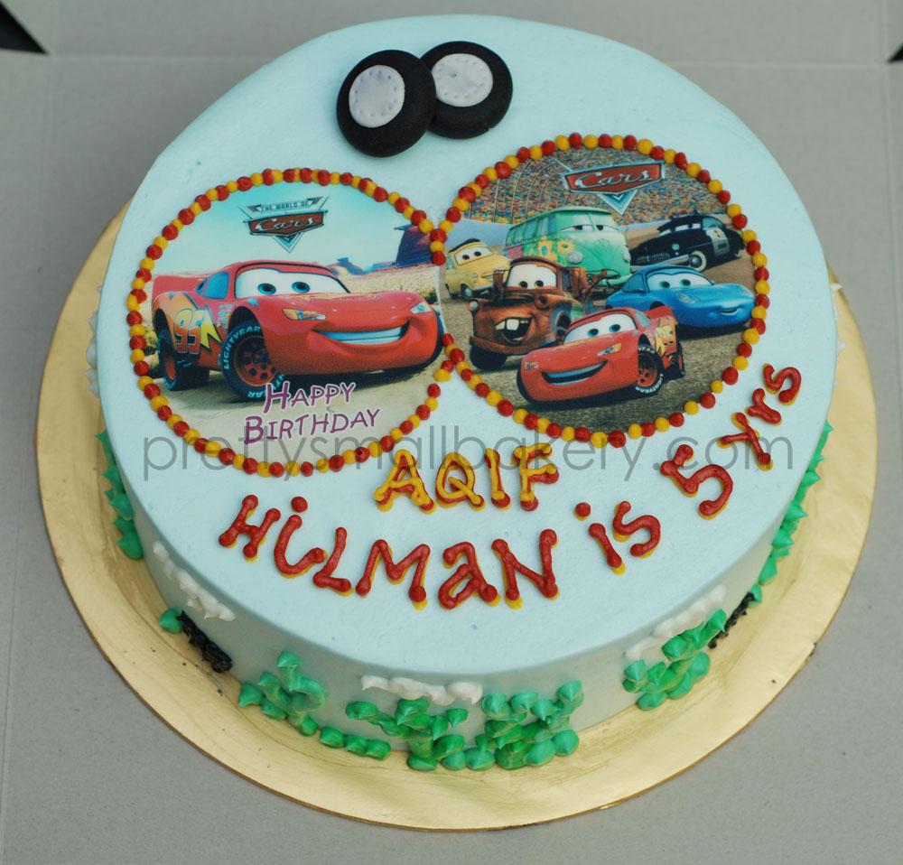 Kek Birthday Untuk Aqif Hilman Prettysmallbakery