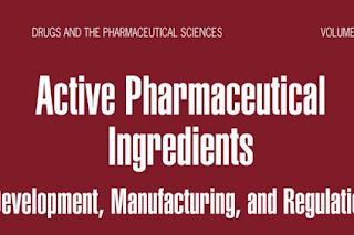 Pharmaceutics book: Active Pharmaceutical Ingredients Development, Manufacturing, and Regulation edited by Stanley H. Nusim