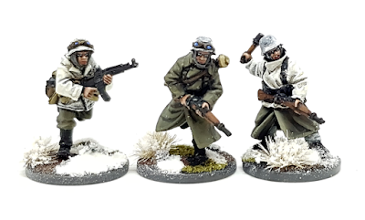 28mm WW2 Winter Germans