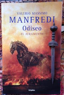 Portada del libro Odiseo. El juramento, de Valerio Massimo Manfredi
